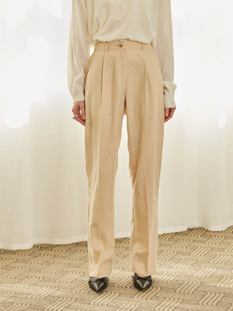 BLAZER SET SLACKS (BEIGE)