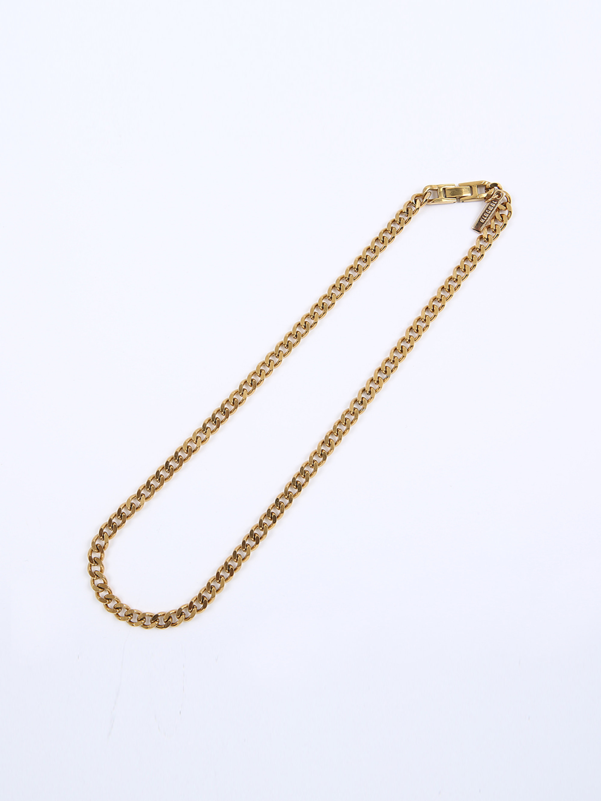 TAG CHAIN NECKLACE (GOLD)