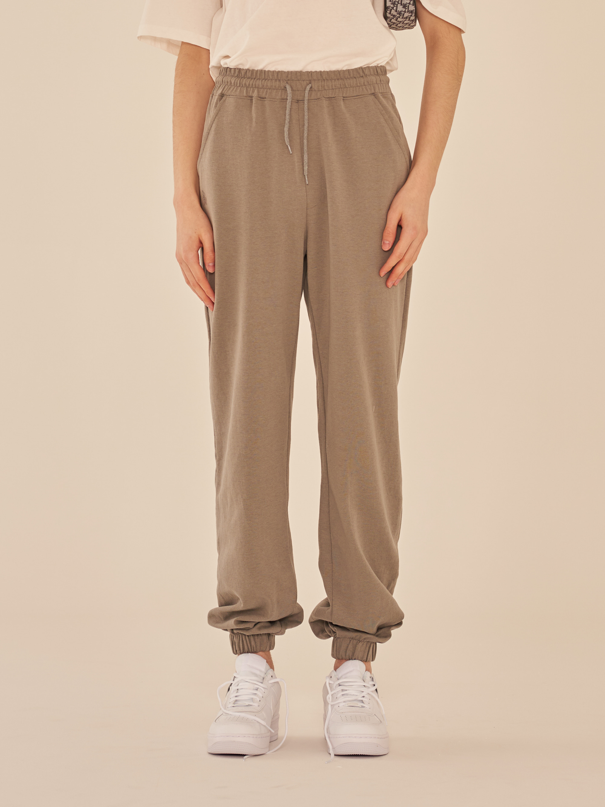 DRAPE JOGGER PANTS (GRAY)