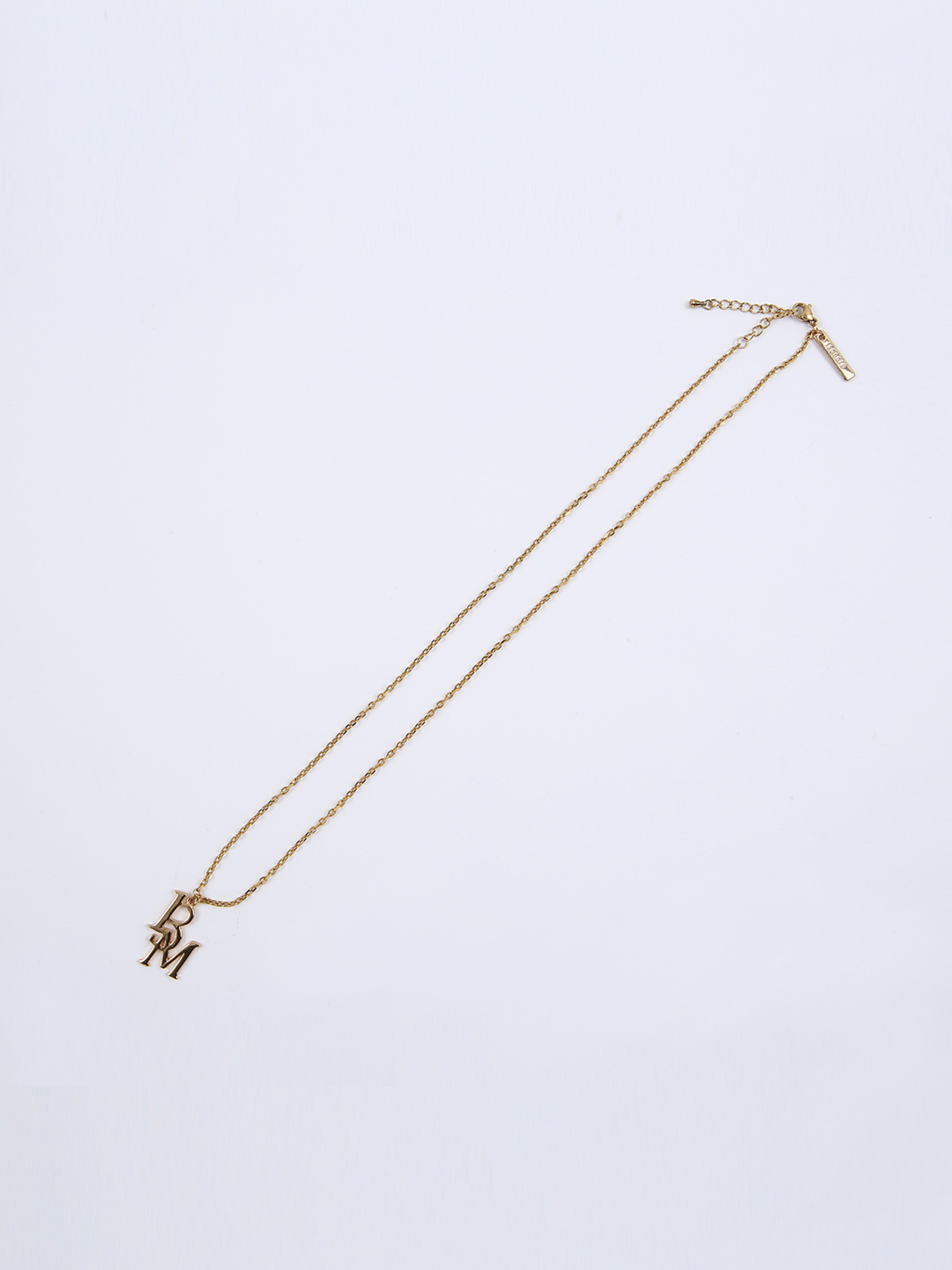 13M LOGO CHAIN NECKLACE (GOLD)