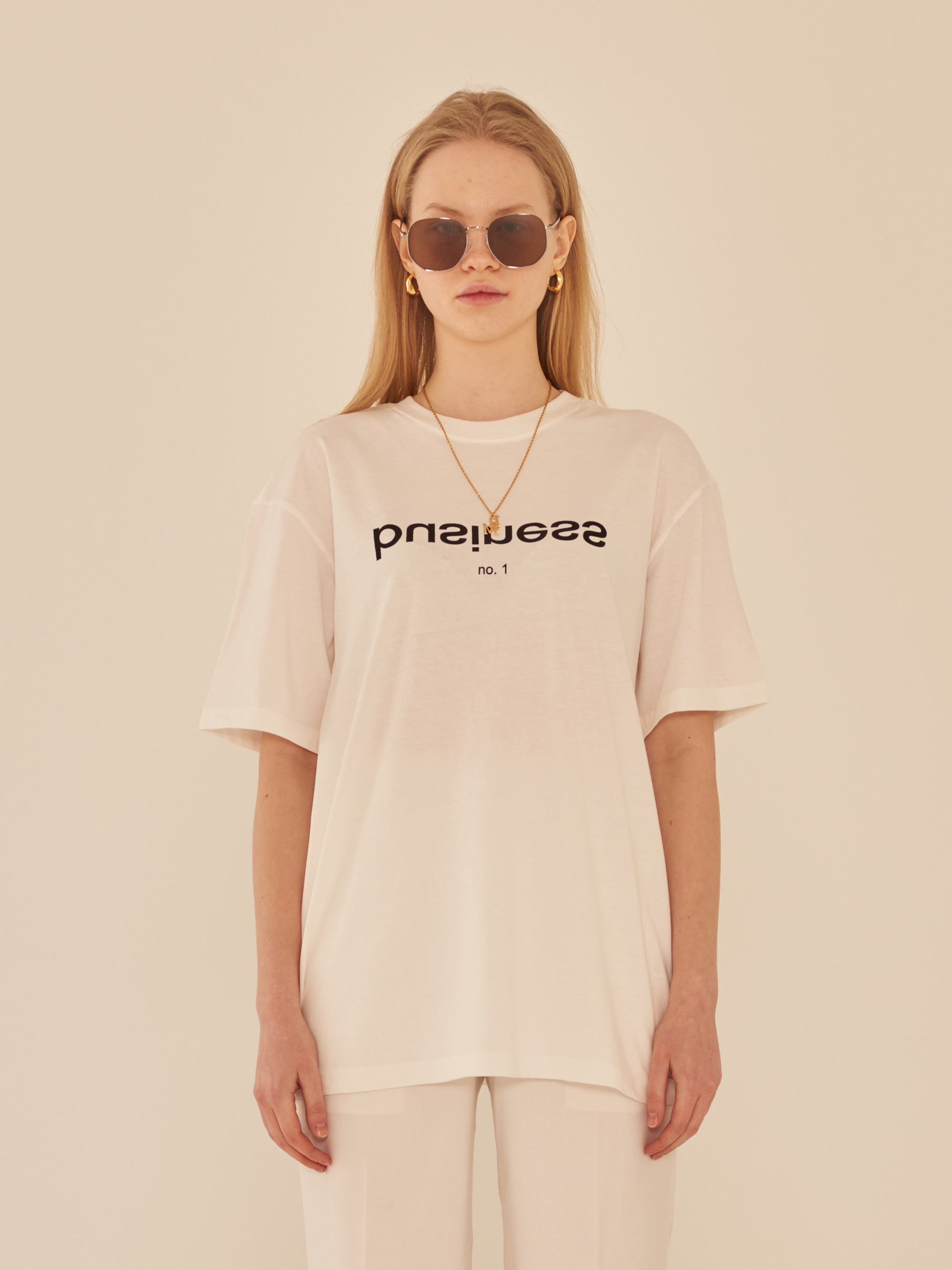 BUSINESS T-SHIRT (WHITE)