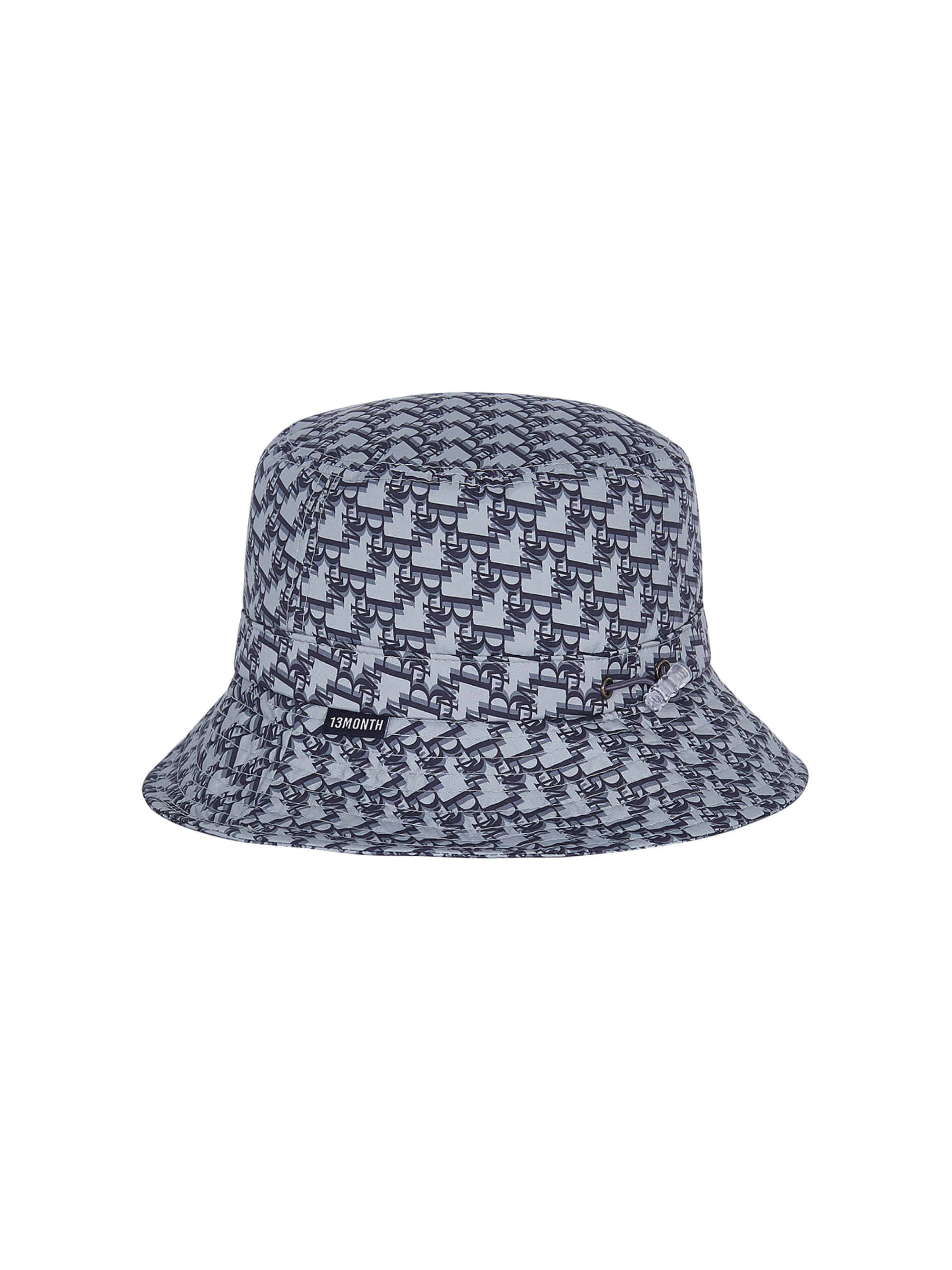 13M PATTERN BUCKET HAT (GRAY)