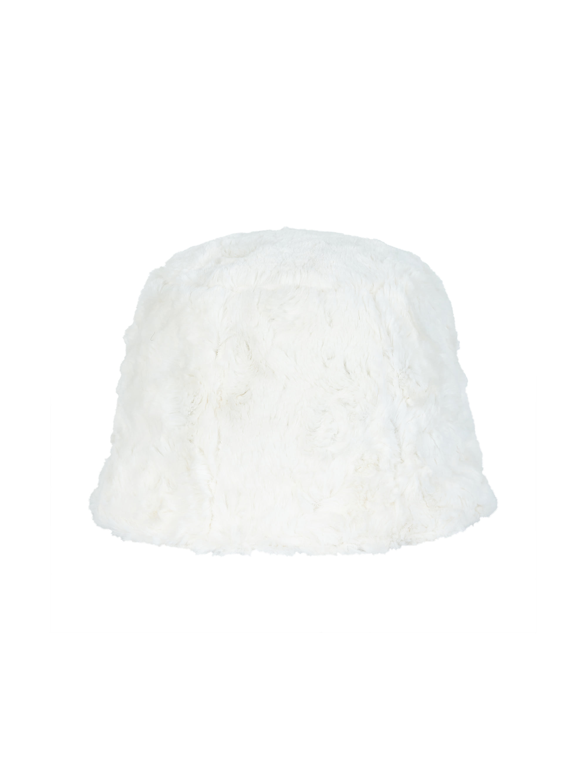 ● 5차 리오더 ●FAUX FUR BUCKET HAT (WHITE)