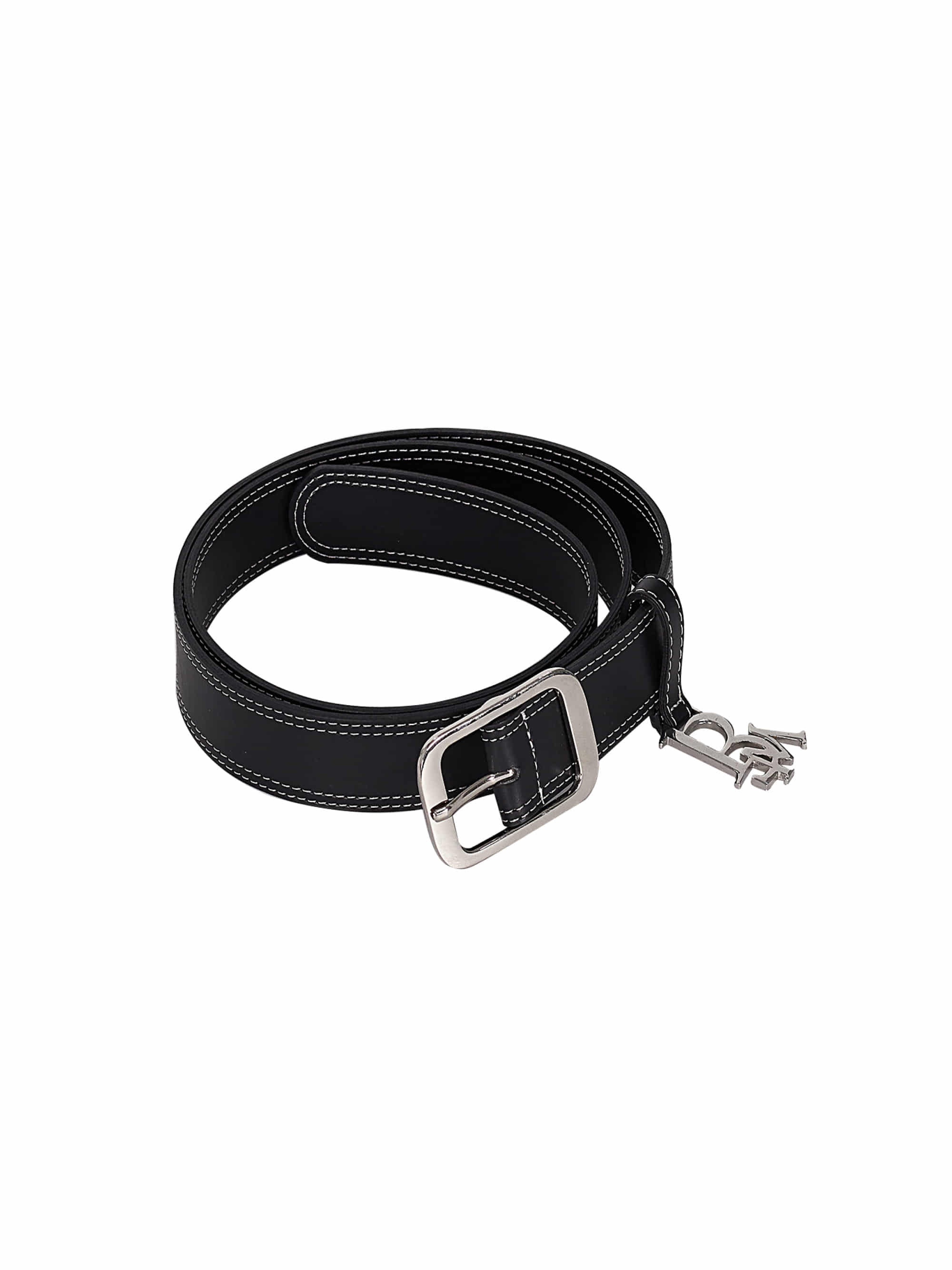 STITCH LOGO BELT (BLACK)