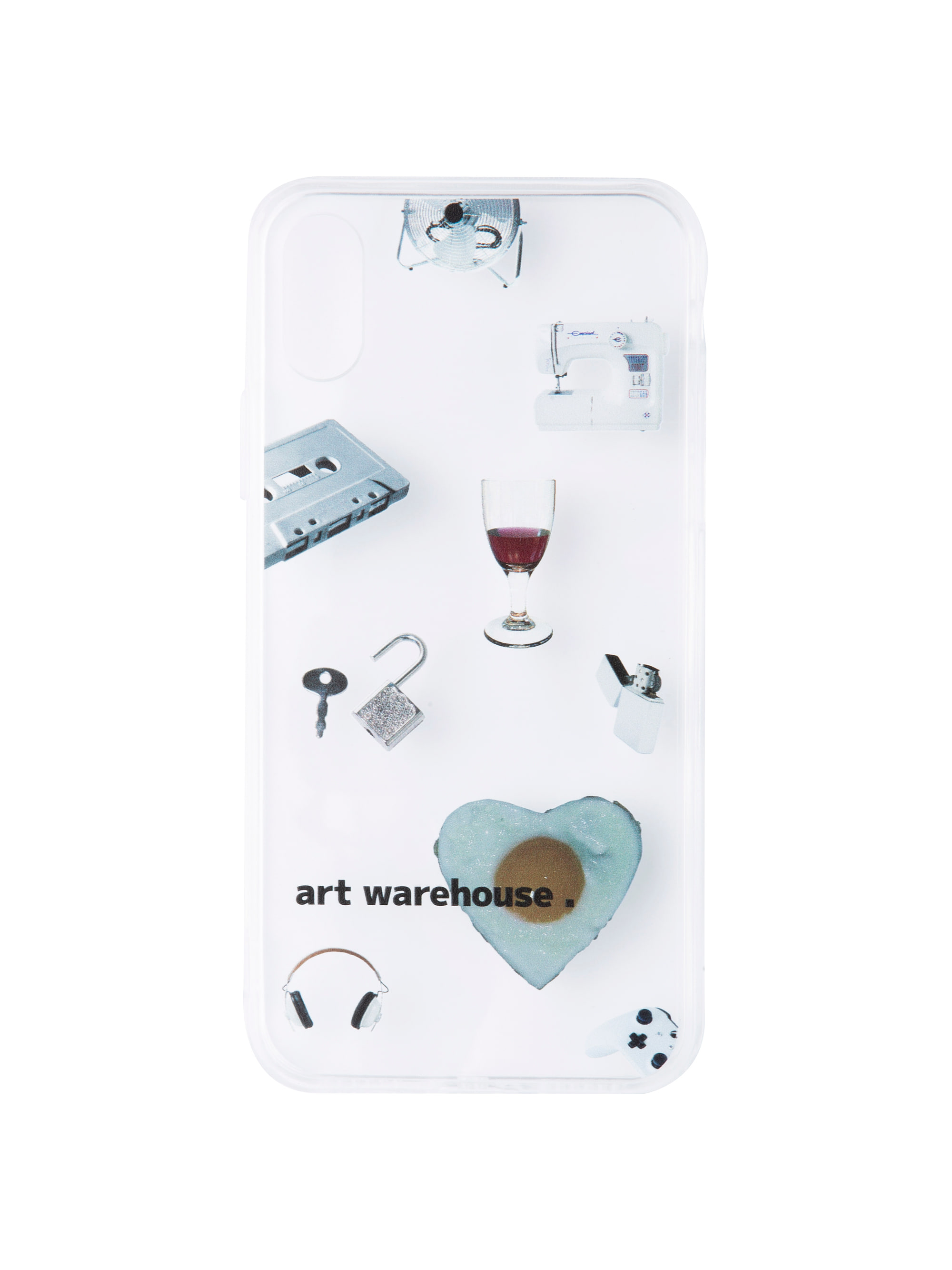 V1 UNIQUE PHONE CASE (WHITE)